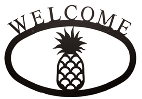 Pineapple - Welcome Sign Small