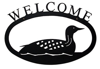 Loon - Welcome Sign Large