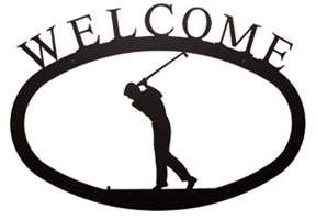 NO LONGER AVAILABLE - Golfer Welcome Sign