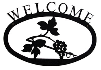 Grapevine - Welcome Sign Large
