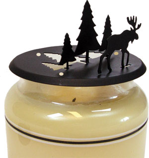 NO LONGER AVAILABLE - Moose & Pine - Candle Jar Topper