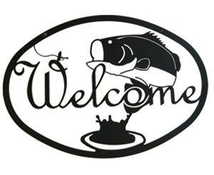 Bass - Welcome Sign Medium
