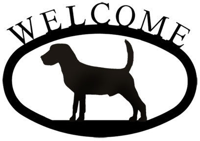 Beagle - Welcome Sign Small