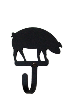 Pig - Wall Hook Small