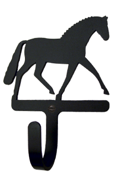 Dressage Horse Wall Hook Sm