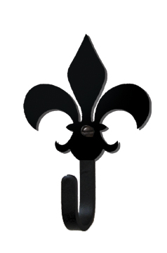 Fleur-de-Lis - Wall Hook Small