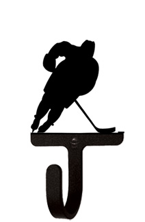 Hockey Player - Wall Hook Small