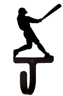 Baseball Player - Wall Hook Small