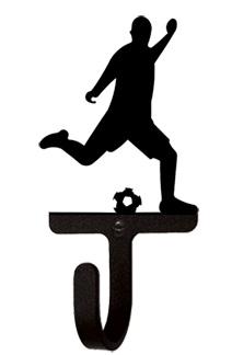 Soccer Player Men's / Boy's - Wall Hook Small