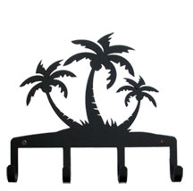Triple Palm Trees - Key Holder