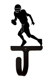 Football Player - Wall Hook Small