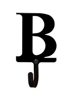Letter B - Wall Hook Small