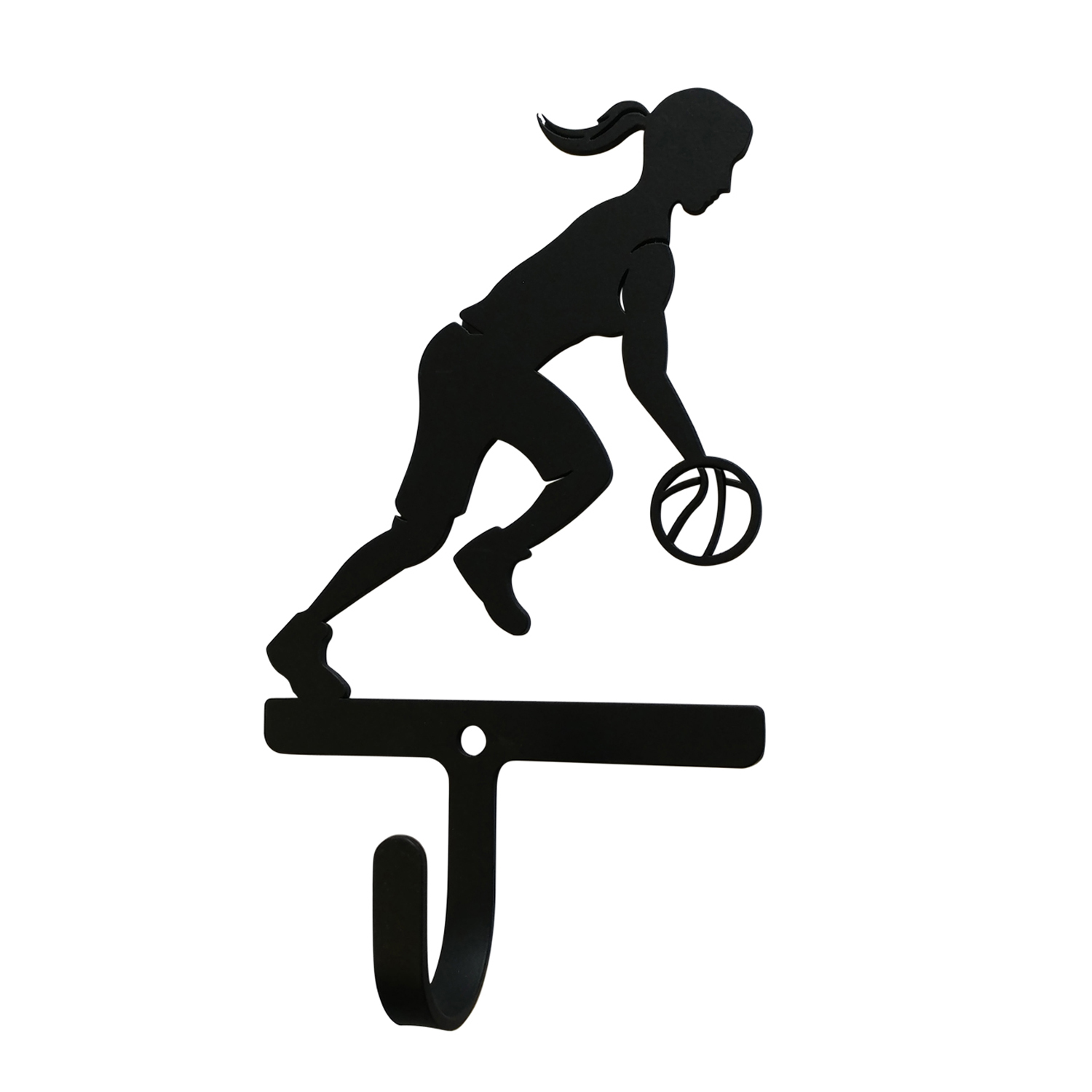 Basketball - Woman/Girl Wall Hook