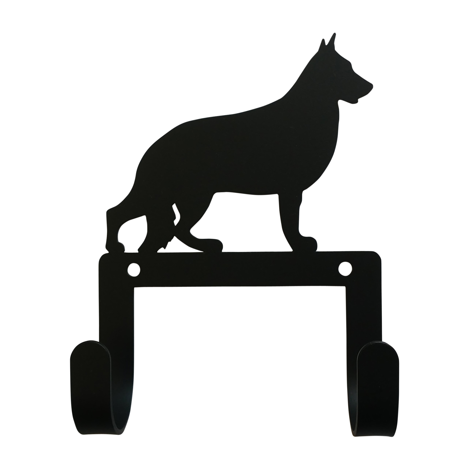 NEW - German Shepherd - Leash and Collar Wall Hook