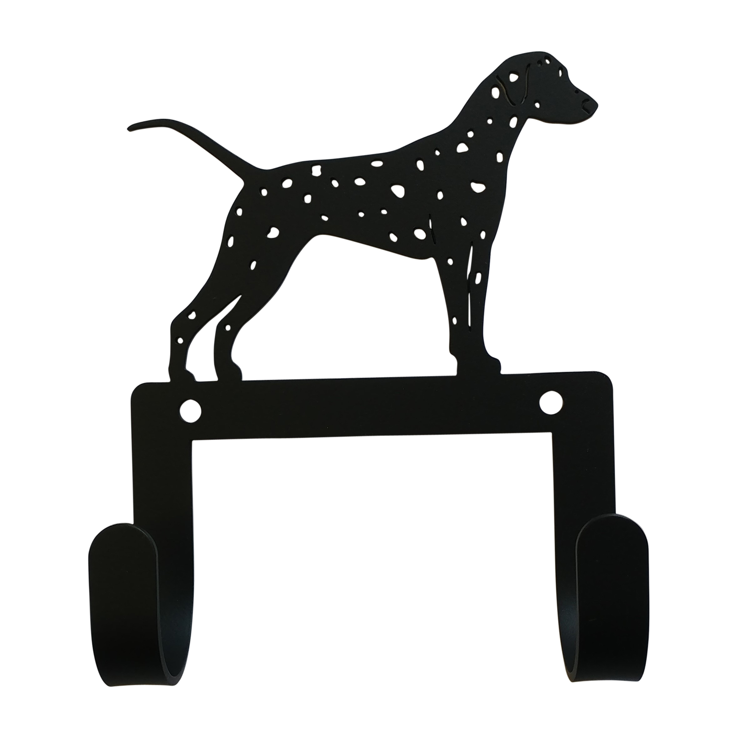 NEW - Dalmatian  - Leash and Collar Wall Hook