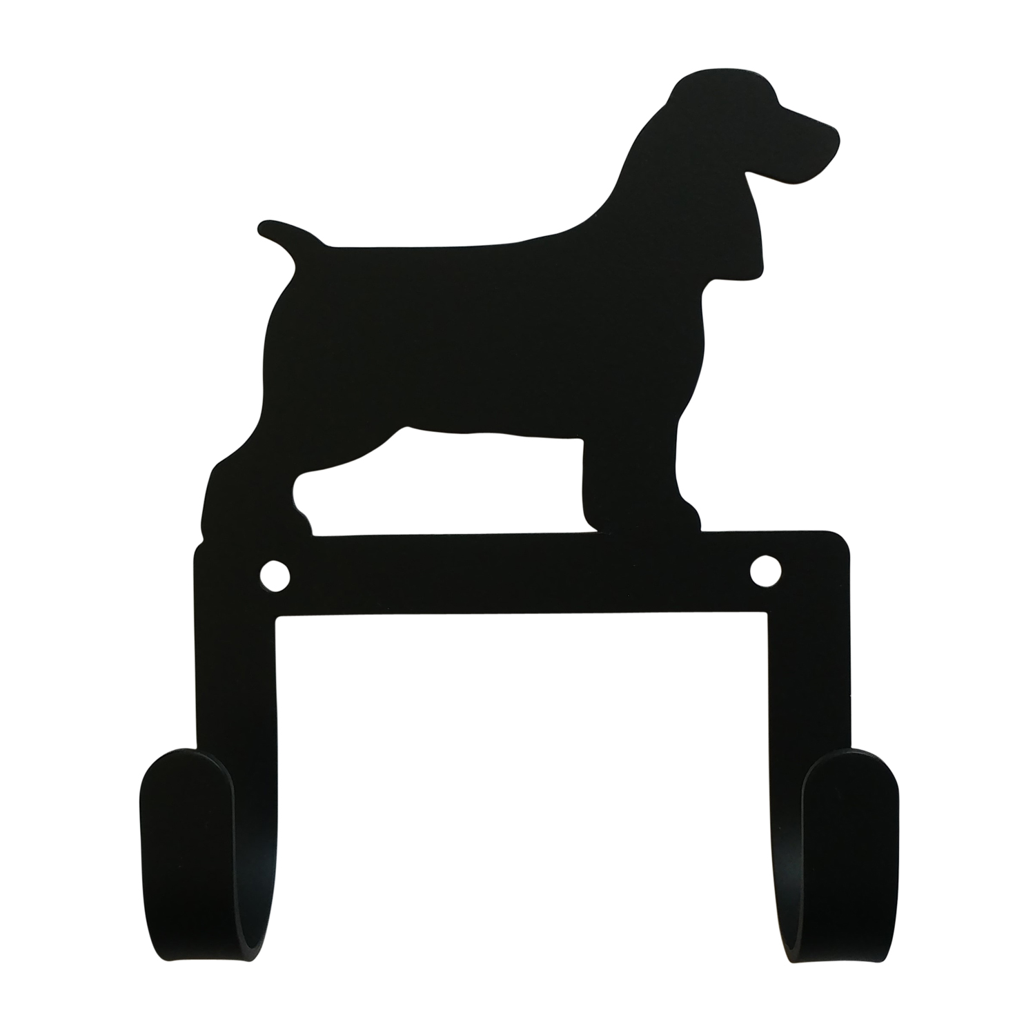 NEW - Spaniel - Leash and Collar Wall Hook