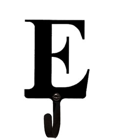 Letter E - Wall Hook Small