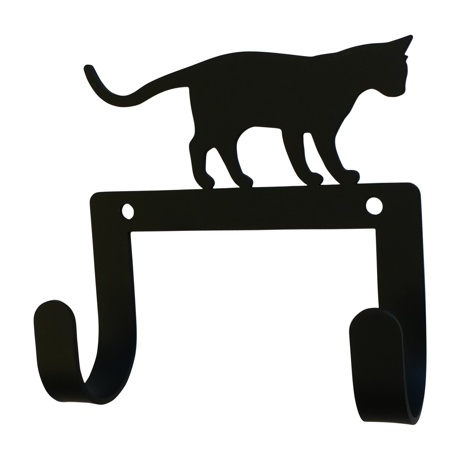 NEW - Cat At Play - Leash and Collar Wall Hook