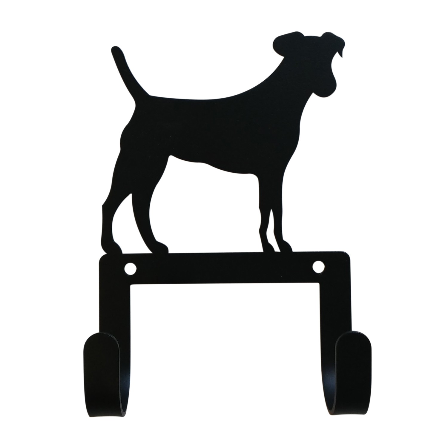 NEW - Jack Russell - Leash and Collar Wall Hook