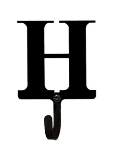 Letter H - Wall Hook Small