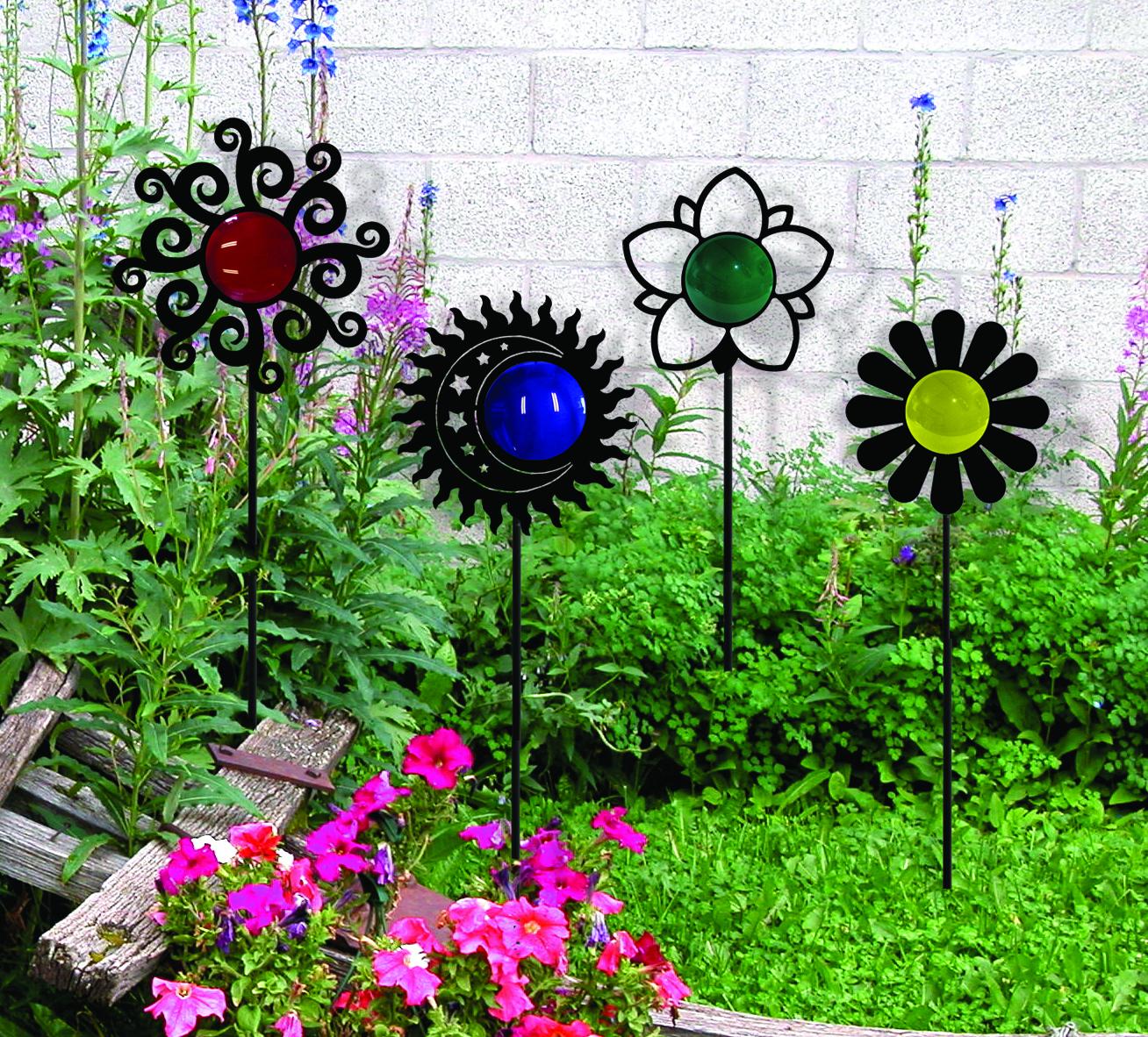 Artisitc Flower - Garden Stake
