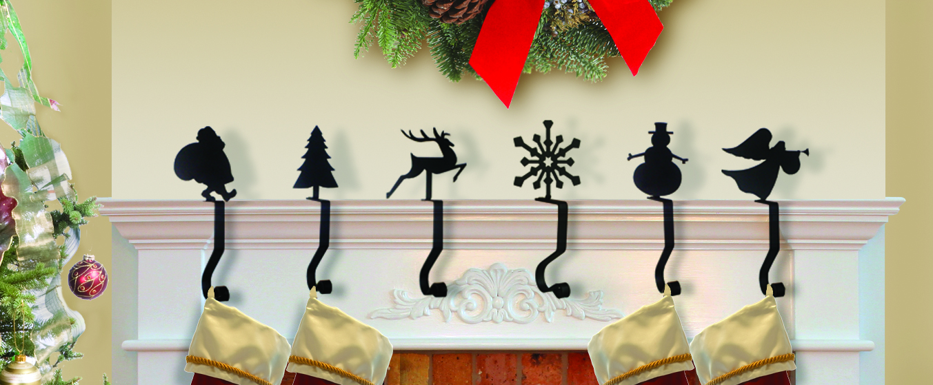 Santa - Mantel Hook