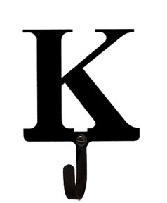 Letter K - Wall Hook Small