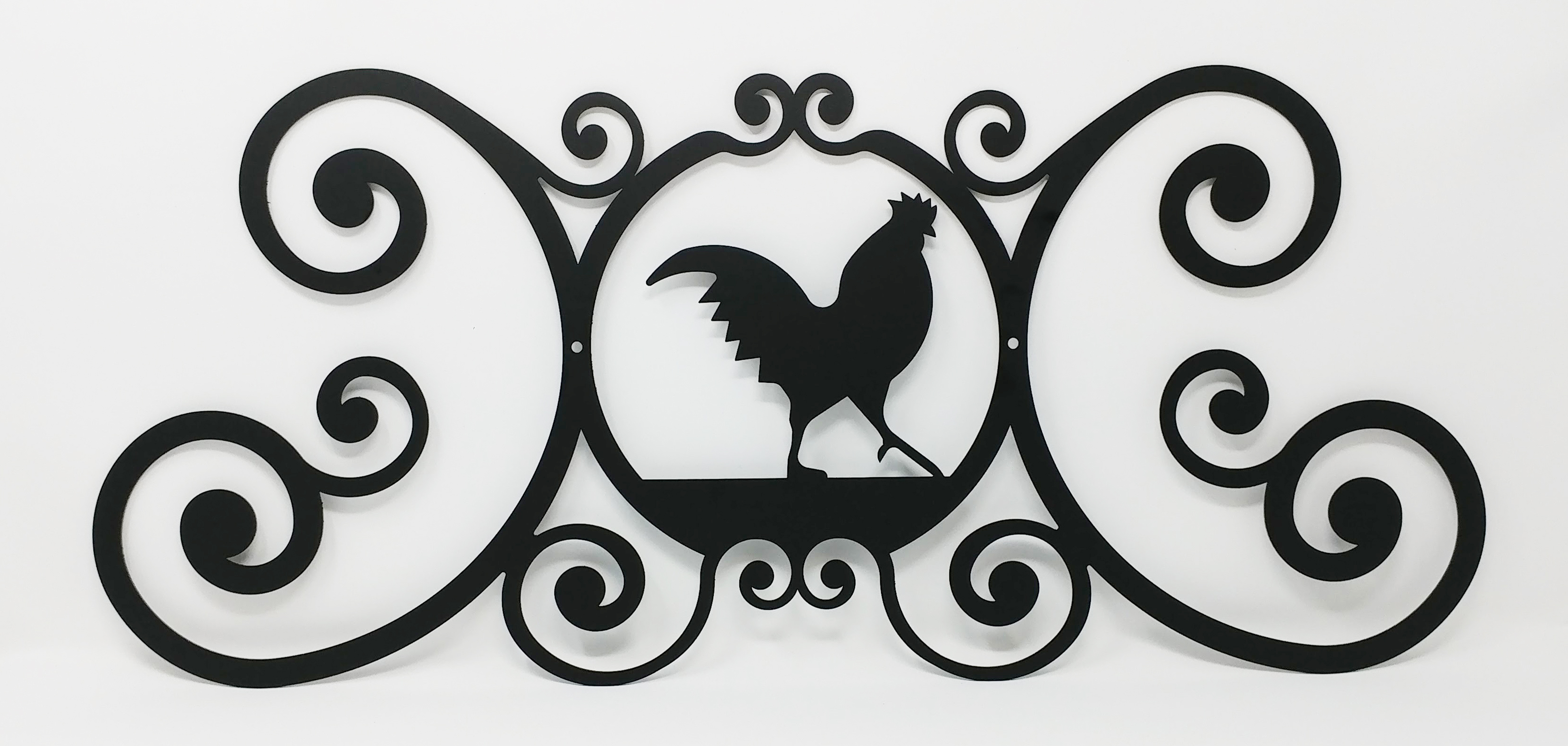 Rooster - Over Door Plaque