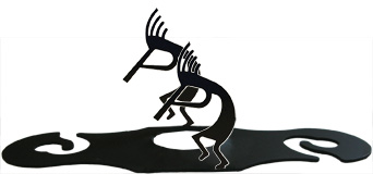 Kokopelli - Wine Caddy