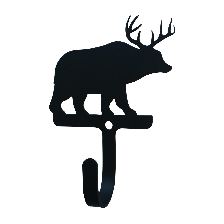 NEW - Bear/Deer - Wall Hook Small