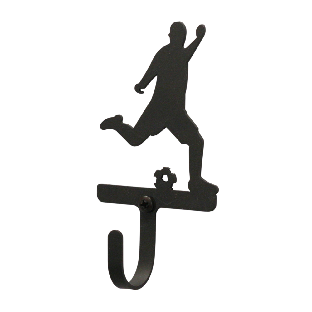 Soccer Player Men's / Boy's - Wall Hook Small