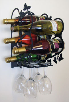 Grapevine Wine Rack - Wall Mount Medium