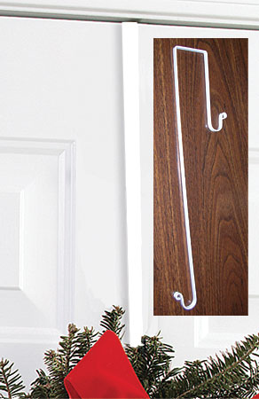Plain - Wreath Hanger WHITE
