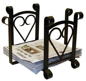 Heart - Newspaper Recycle Bin