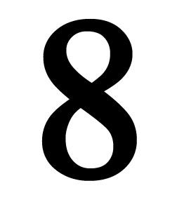 Number 8 Medium
