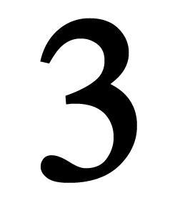 Number 3 Medium
