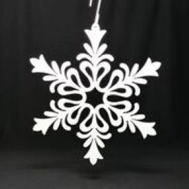 Showflake - Floral Design - WHITE