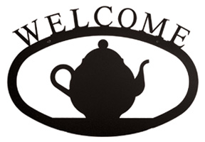 Teapot - Welcome Sign  Large