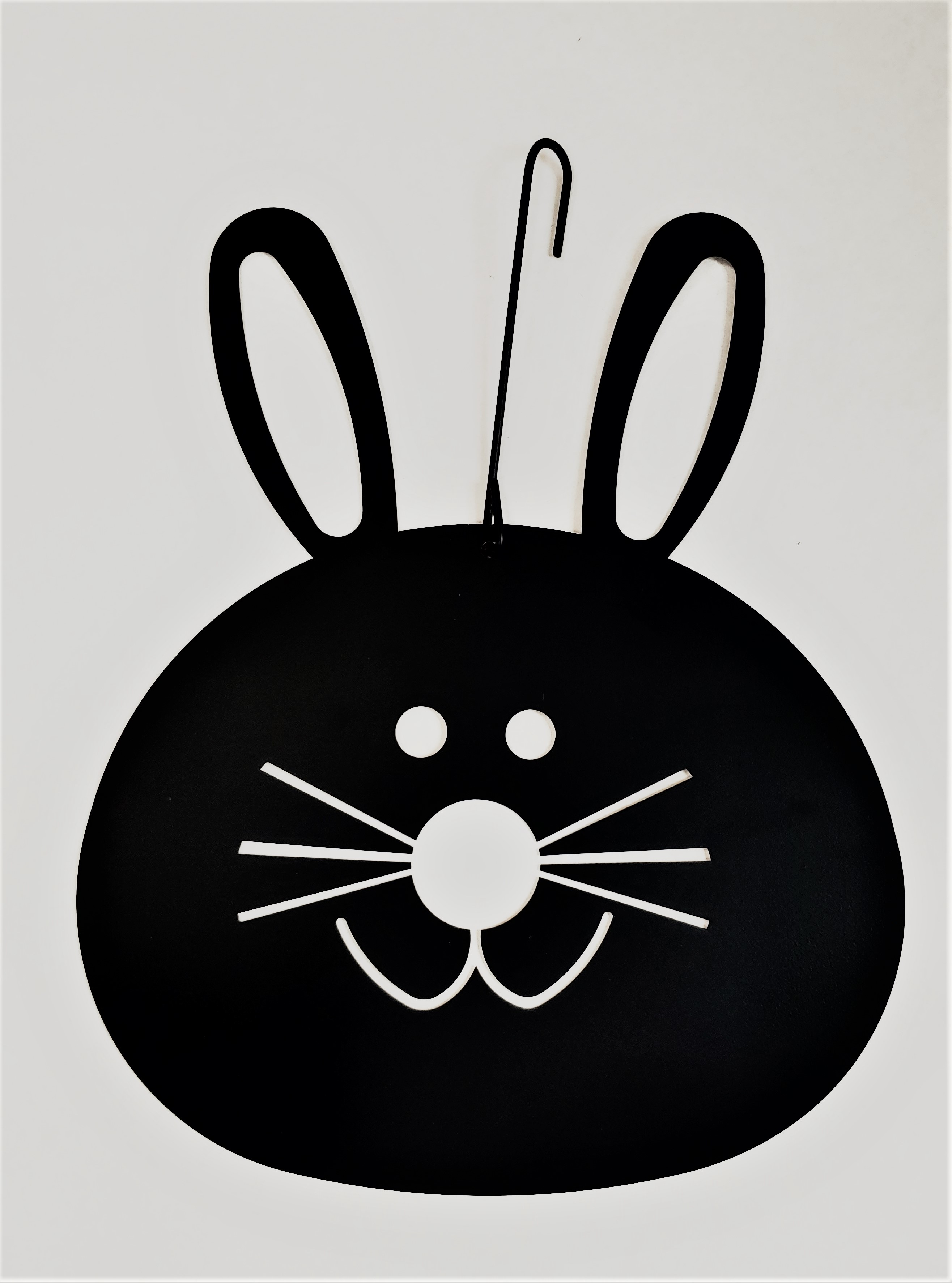 Bunny Head - Decorative Hanging Silhouette