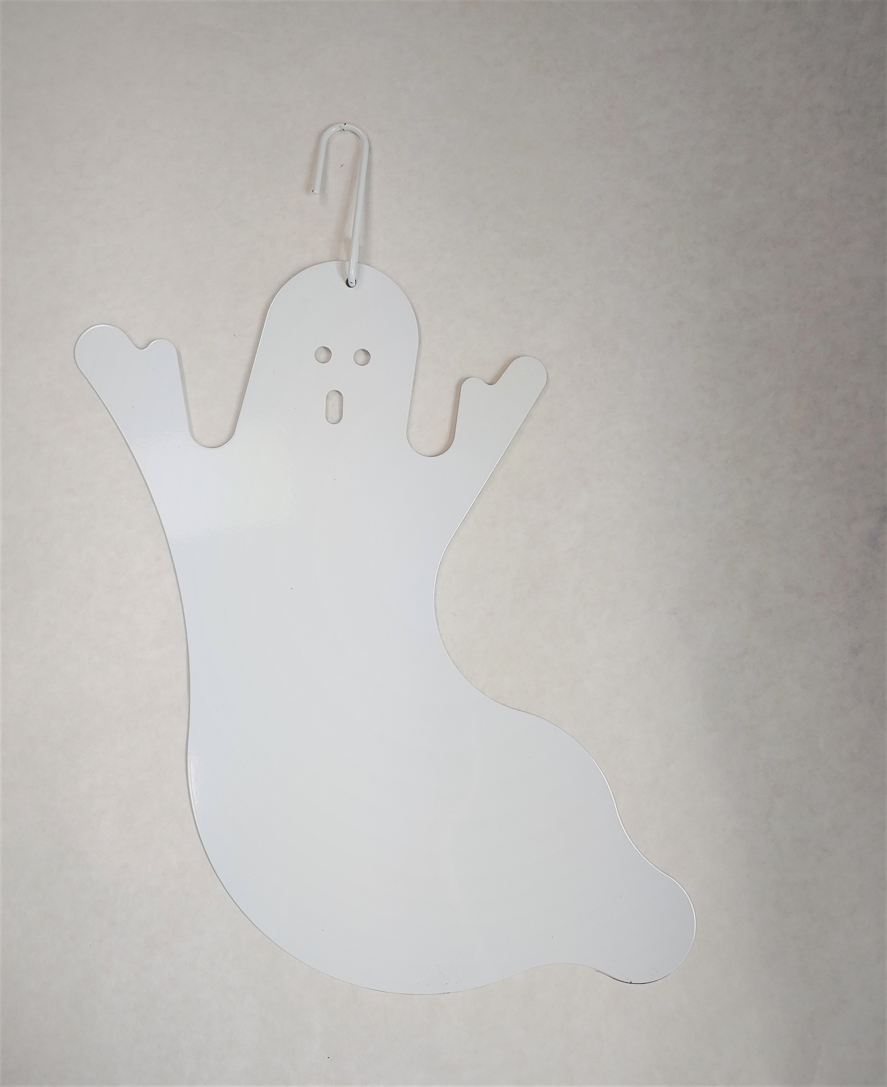 Ghost - WHITE - Decorative Hanging Silhouette