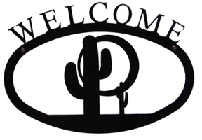 Cactus - Welcome Sign Small