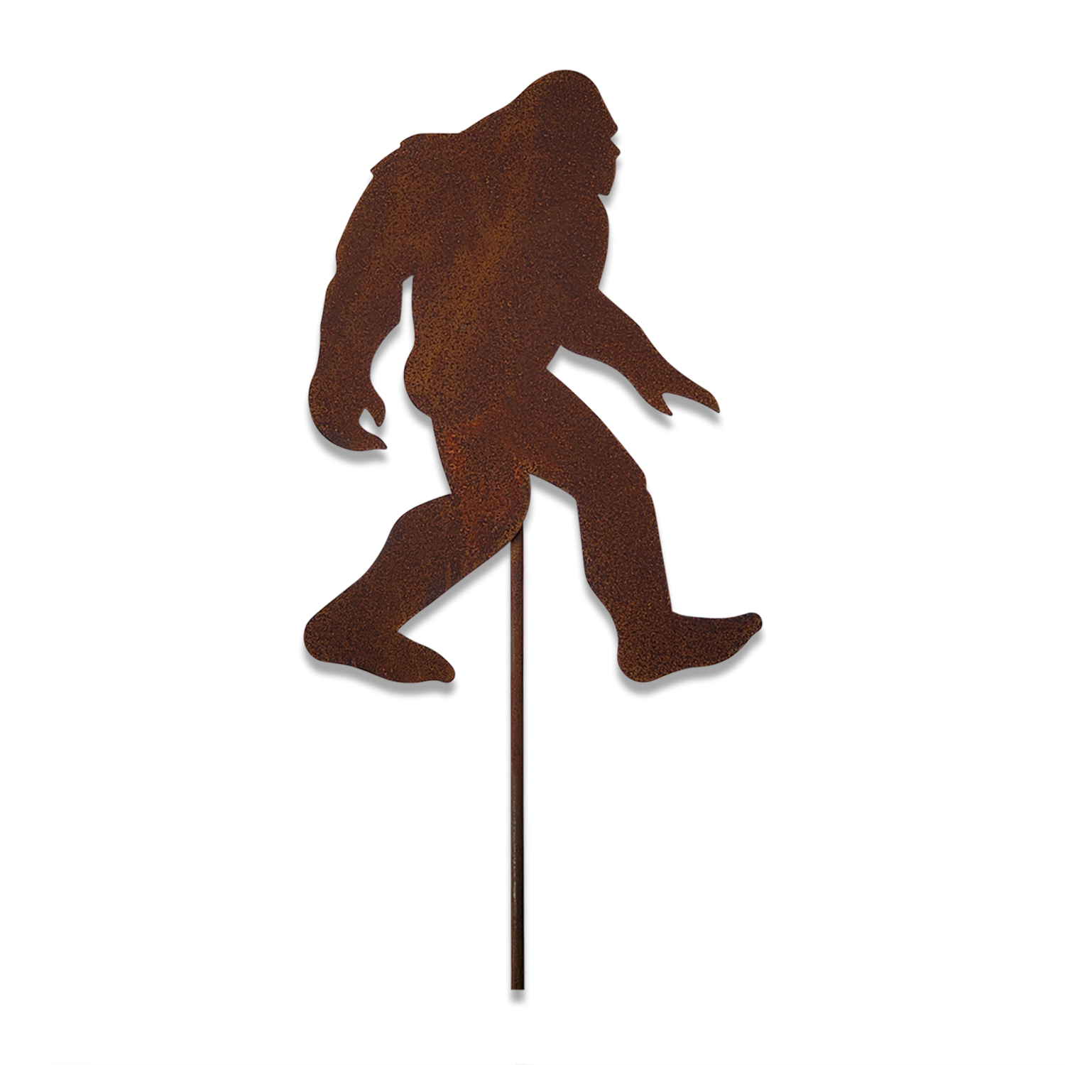 BIG Foot - Rusted Garden Stake - Large