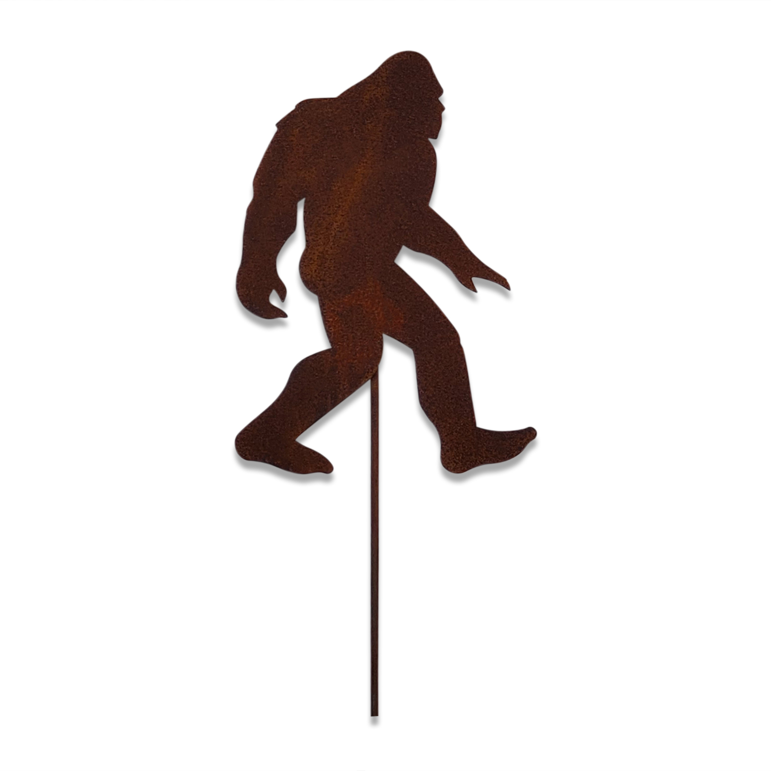 BIG Foot - Rusted Garden Stake - Small