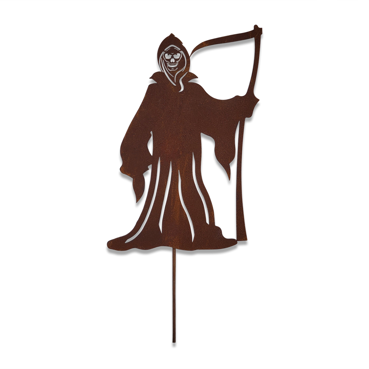 The Grim Reaper - Rusted Garden Stake