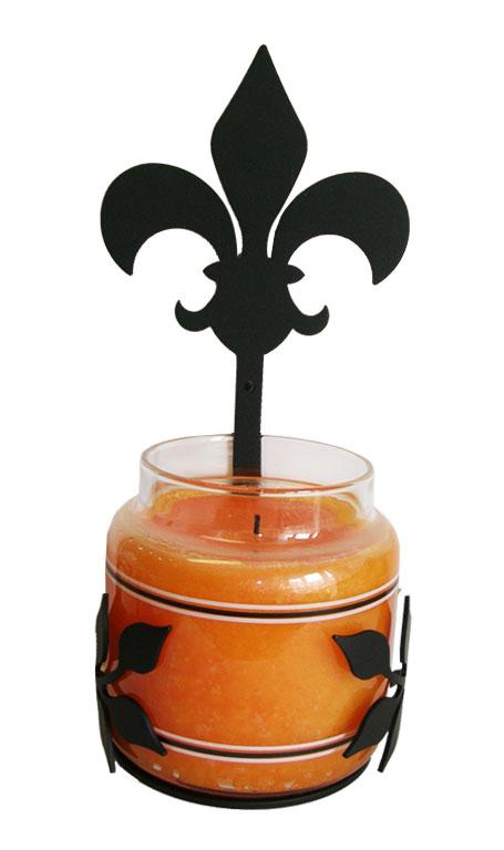 Fleur-de-lis - Large Jar Sconce