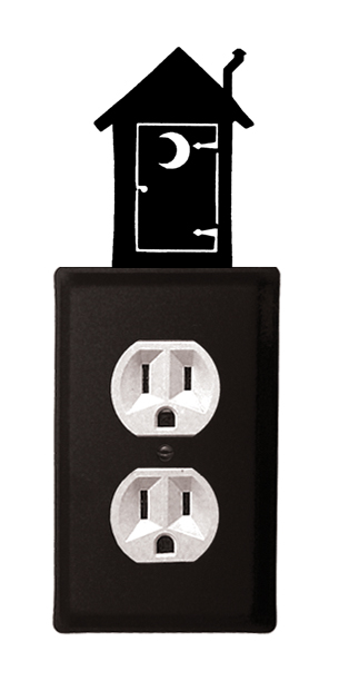 Outhouse - Single Outlet Cover