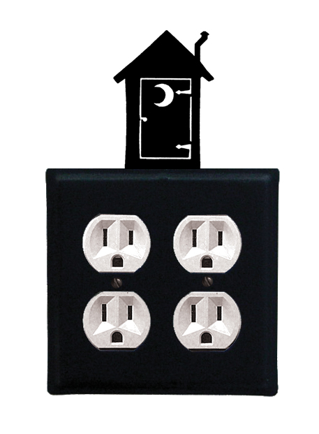 Outhouse - Double Outlet Cover