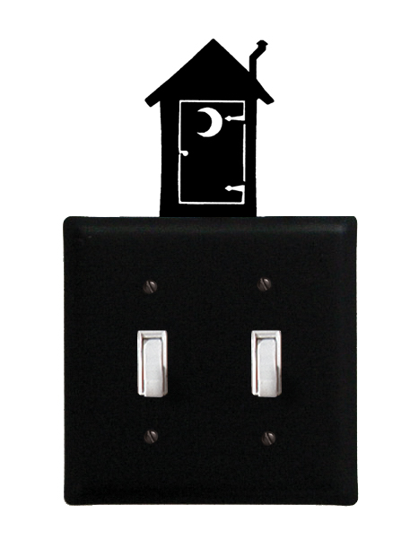 Outhouse - Double Switch Cover