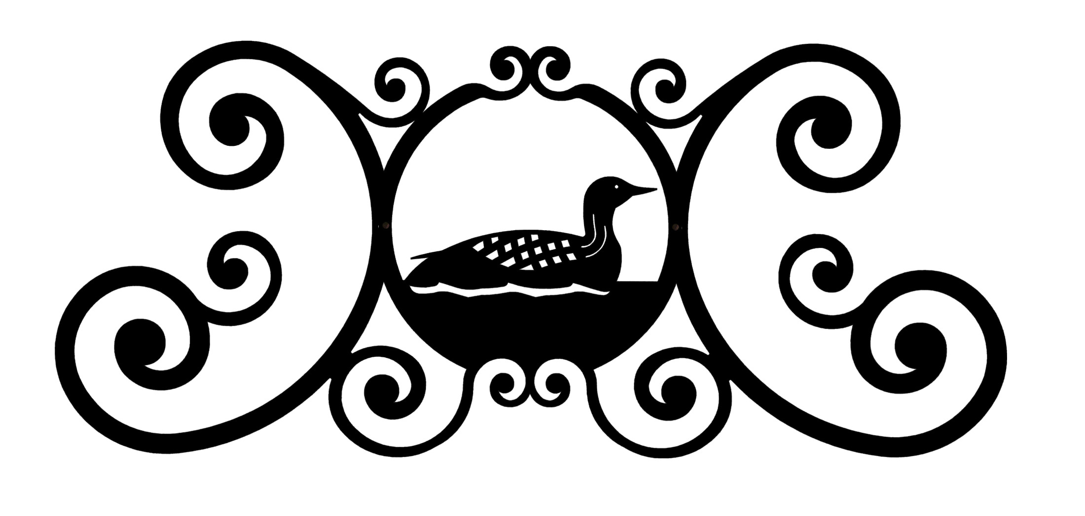 Loon - Over Door Plaque
