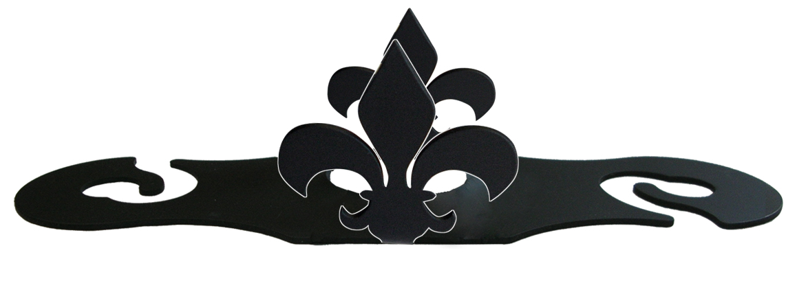 NO LONGER AVAILABLE - Fleur-de-lis - Wine Caddy